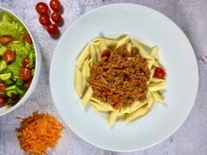 Beef Bolognese with Penne